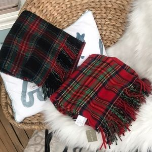 J. Crew Wool scarf made in Italy